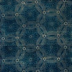 vintage japanese indigo -- LOVE this! Motifs Textiles, Textile Patterns, Textile Design, Fabric Design, Pattern Design, Print Patterns, Textile Fabrics, Vintage Textiles, Japanese Textiles