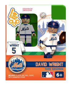 David Wright - New York Mets, Minifigure