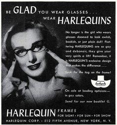 1943 - The Original Cat Eye Glasses