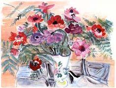 """Raoul Dufy, peintre, graveur, créateur de mode, céramiste, décorateur, justement surnommé """"l'Enchanteur"""""""