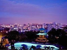 View from Yamashiro- Los Angeles Skyline