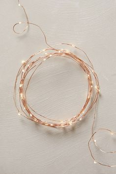 Favorite Holiday Décor (these cute copper string lights are from Anthropologie)