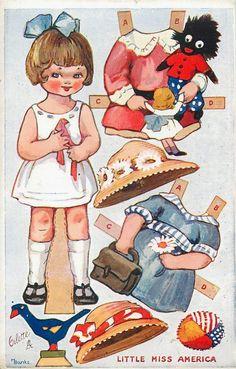 Bonecas de Papel: ESPECIAL - Coleção Vintage