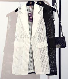 Журнал Burda Suit Jacket, Vest, Blazer, Black And White, Jackets, Stuff To Buy, Color, Fashion, Black White