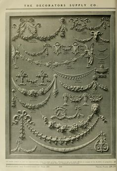 Illustrated catalogue of period ornaments for f...