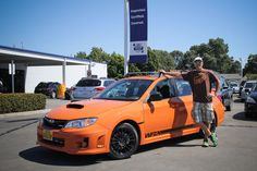 Congrats to Paul L.!! He is the proud owner of a brand new 2013 Special Edition WRX, one of only 200 made!