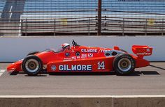 A. J. Foyt - March 84C Cosworth - Gilmore-Foyt Racing - Indianapolis 500-Mile Race - 1984 PPG Indy Car World Series, round 3 - © Clarino 2012