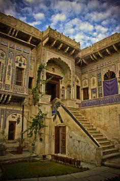 Painted Haveli Indian houses for rich people