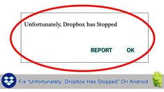 How To #Fix #Unfortunately, #Dropbox Has #Stopped On #Android. Why Has Dropbox Stopped #Working?. #Restart Your #Device. Check Update For #DropboxApp. Restart Dropbox. #Clear App #Cache And #Data. #Uninstall & Reinstall The #App. Use #AndroidRepair Software. Factory Reset Your Android Device. Types Of Android, Play Game Online, Data Recovery, Software, Messages, Check, Text Posts