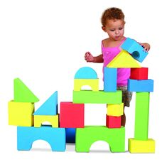 Edushape Big Educolor Blocks - 32 Piece, Edushape Big Educolor Blocks - 32 Piece make a compelling argument for a block party. These giant blocks are perfect for small hands and big imaginations. About Edushape Established in Edushape . Toddler Toys, Baby Toys, Kids Toys, Foam Building Blocks, Building Toys, Foam Blocks For Kids, Block Play, Stacking Blocks, Soft Play