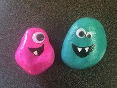 Little rock monsters