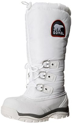 Sorel Women's Snowlion XT Boot,White/Red Quartz,11 M US * Click image to review more details.