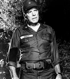 "Burt Lancaster en ""La Patrulla"", 1978"