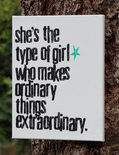 Make the moments extraordinary.