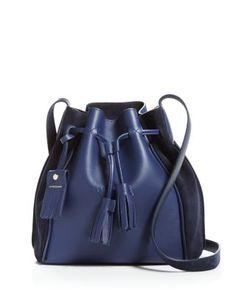52e6bca655d2 Longchamp Penelope Leather Bucket Bag EDITORIAL - Women s New Arrivals -  Handbags - Bloomingdale s