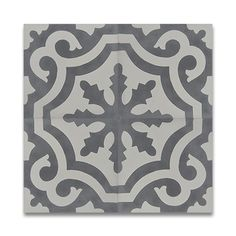 Mosaic Tanger and White Handmade 8 x 8-inch Moroccan Floor and Wall Tile