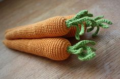 amigurumi carrots: play food or decoration eat your veg! #amigurumicarrots #carrottoy