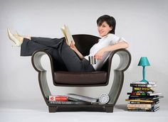 Creative Storage Furniture Design, Hollow Chair and Lost In Chair Space Saving…