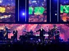 Robin Thicke performs with Chicago on the 56th Annual GRAMMY Awards on Jan. 26 in Los Angeles