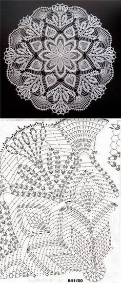 Online Knitting and Crochet Pattern Software. Knitinspire is a pattern drafting software that allows you to create patterns for both crochet and knitting. Mandala Au Crochet, Free Crochet Doily Patterns, Crochet Doily Diagram, Crochet Chart, Thread Crochet, Filet Crochet, Crochet Motif, Crochet Designs, Crochet Stitches