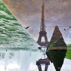 Eiffel reflection - Life's a Photo - Take It #lifesaphoto #samsungGALAXYcamera