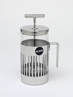 Press filter coffee maker, Aldo Rossi, Alessi, 1986