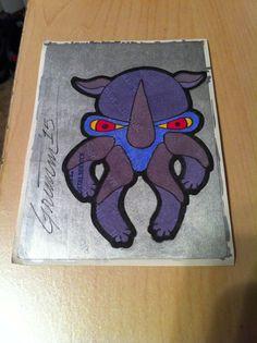 #stickerart #stickerartist #labelart #sharpieart #sharpie #theartistgrimm #grimm #artist #art #rhino #rhinocerous #rhinoceros #savetherhinos #skullyfish