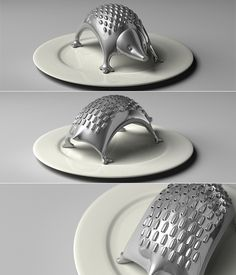 kawaii...Hedgehog cheese grater. It's cracking me up right now. :P