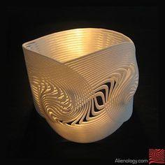Alienology   3d printed Jewelry   Dualnexus by Alienology , via Behance
