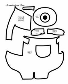 almofadas dos minions como fazer - Pesquisa Google