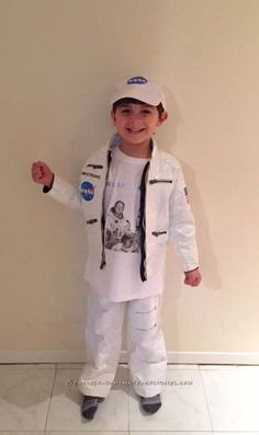 Stylish Duct Tape Neil Armstrong Costume for a Boy... Coolest Halloween Costume Contest