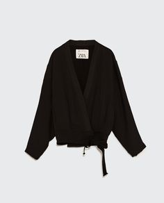 Image 2 of STUDIO STRAPPY KIMONO from Zara