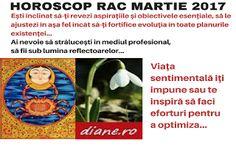 Horoscop martie 2017 Rac Blog, Astrology, Blogging