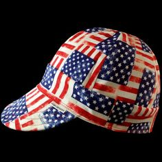 Old Glory Welding Hat