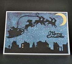 Plantin (skyline), Noel (sleigh and moon) and wild card (words) cricut cartridges