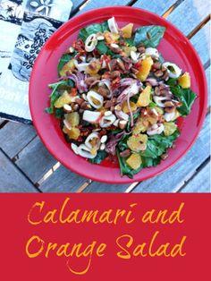 Healthy Recipe: Calamari and Orange Salad - Comeback Momma