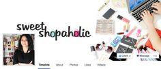 Facebook Cover : Sweet Shopaholic by Jacinta Kee