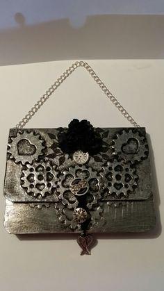En presentkortsväskor eller till ett födelsedagskort i steampunk tema