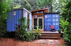 12 homes made of recycled and repurposed items home made of two shipping containers
