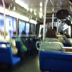 M102 Bus uptown towards Harlem