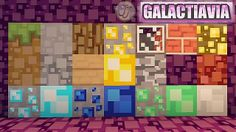 Galactavia Minecraft Resource Pack 1.7.9 / 1.7.8 / 1.7.5 / 1.7.4 / 1.7.2
