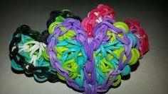 Flying Kaleidoscope (Butterfly) Charm Rainbow Loom Tutorial - YouTube