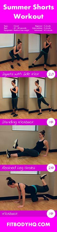 lower body beginner: 1-2 circuit intermediate: 2-4 circuit advanced: 4-5 circuit 2-3x a week.