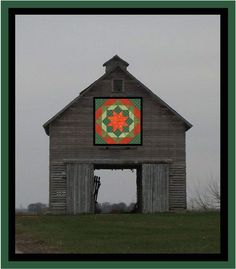 Barn Quilt Patterns for Quilts - Bing images Barn Quilt Designs, Barn Quilt Patterns, Quilting Designs, Block Patterns, Quilting Ideas, Country Barns, Old Barns, Country Life, Iowa