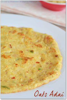 looks tastey. Oats Recipes Indian, Healthy Indian Recipes, Vegetarian Recipes, Cooking Recipes, Ethnic Recipes, Oatmeal Recipes, Healthy Foods, Indian Breakfast, Breakfast For Dinner