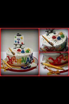 Art cake