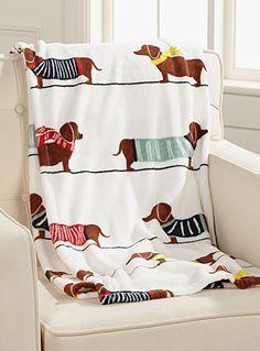 Dachshund dog throw 130 x 180 cm Dachshund Breed, Dachshund Funny, Dachshund Gifts, Daschund, Dachshund Love, Dapple Dachshund, Dachshund Sweater, Terriers, Terrier Mix