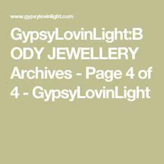 GypsyLovinLight:BODY JEWELLERY Archives - Page 4 of 4 - GypsyLovinLight