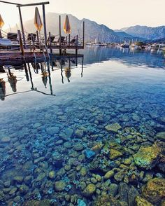 A sight that makes you say you have never swam in an aquarium. Turkey Destinations, Holiday Destinations, Travel Destinations, Marmaris, Privacy Landscaping, Farmhouse Landscaping, Aquarium, Landscape Drawings, Beautiful Places