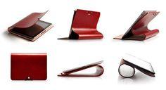 Ekskluzywne skórzane etui dla iPad 2/3/4 - Evouni Leather Arc